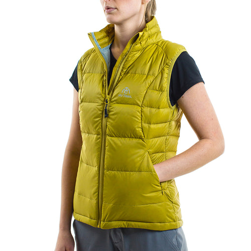 Women's 700 Fill Light Down Vest golden moss