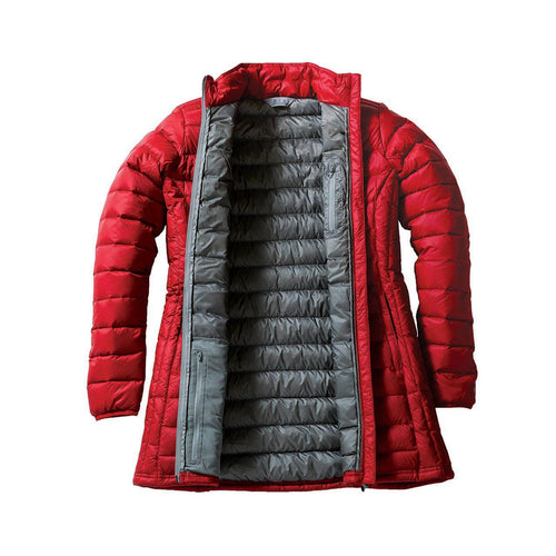 Parka inside red