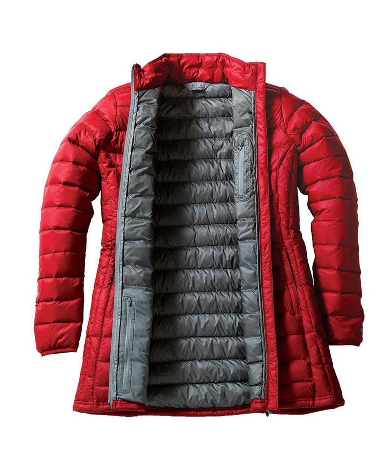 Down Parka inside red