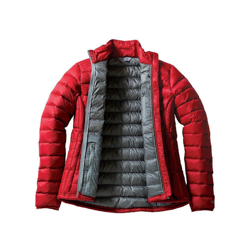 Down Jacket inside red