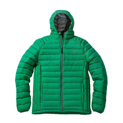 Down Light Hooded Jacket front