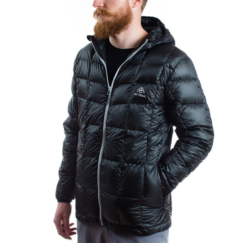 Men's 850 Fill HL Hooded Down Jacket black