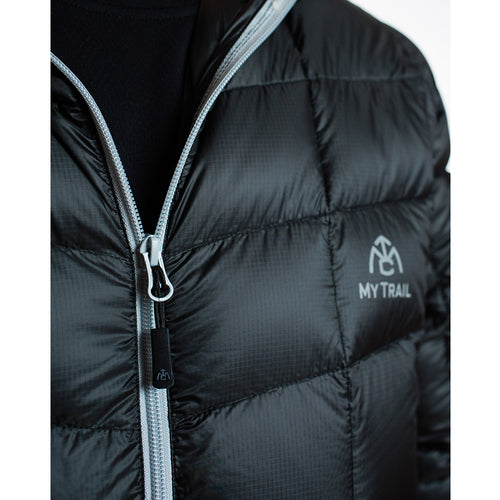 Men's 850 Fill HL Hooded Down Jacket zipper
