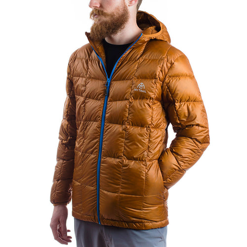 Men's 850 Fill HL Hooded Down Jacket pumpkin spice