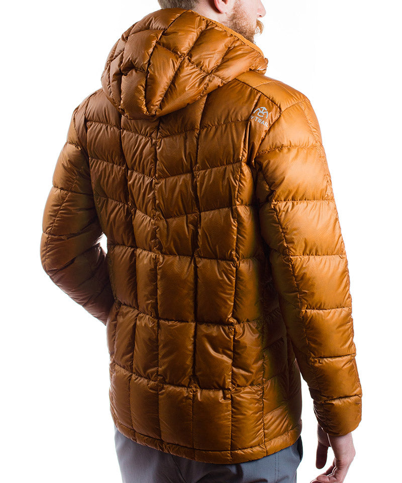 Men's 850 Fill HL Hooded Down Jacket rear