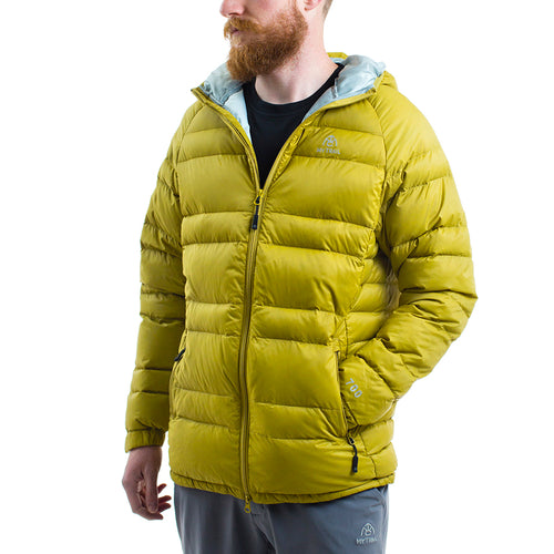 Light Down Jacket With Hood