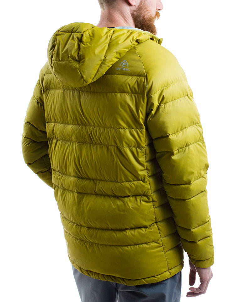 Light Down Jacket With Hood back