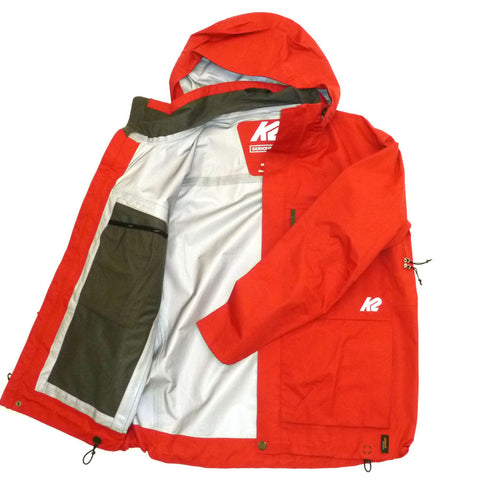 K2 M's Typhoon Shell Red