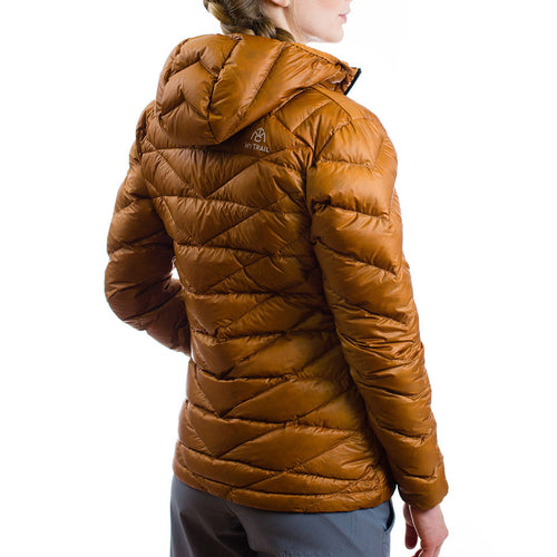 Women's 850 Fill HL Hooded Down Jacket Rear