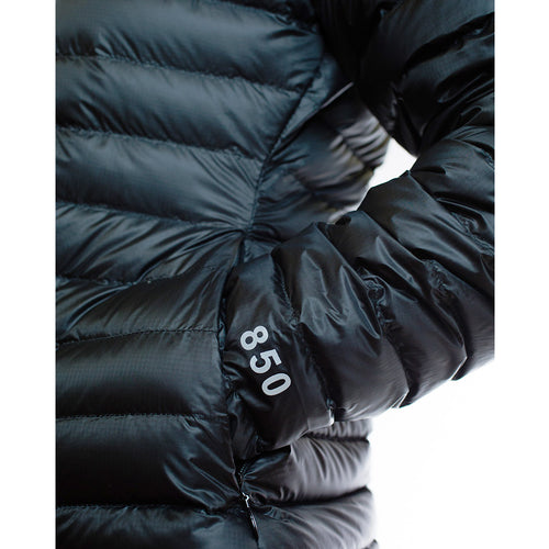Women's 850 Fill HL Down Jacket sleeve and pocket
