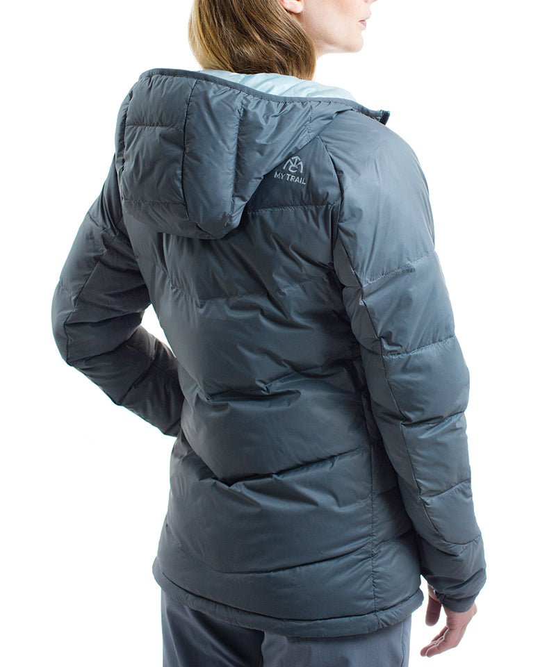 Women's 700 Fill Light Down Hooded Jacket rear