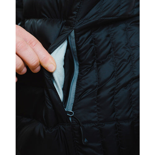 Women's Ultralight Down Jacket zippered pocket