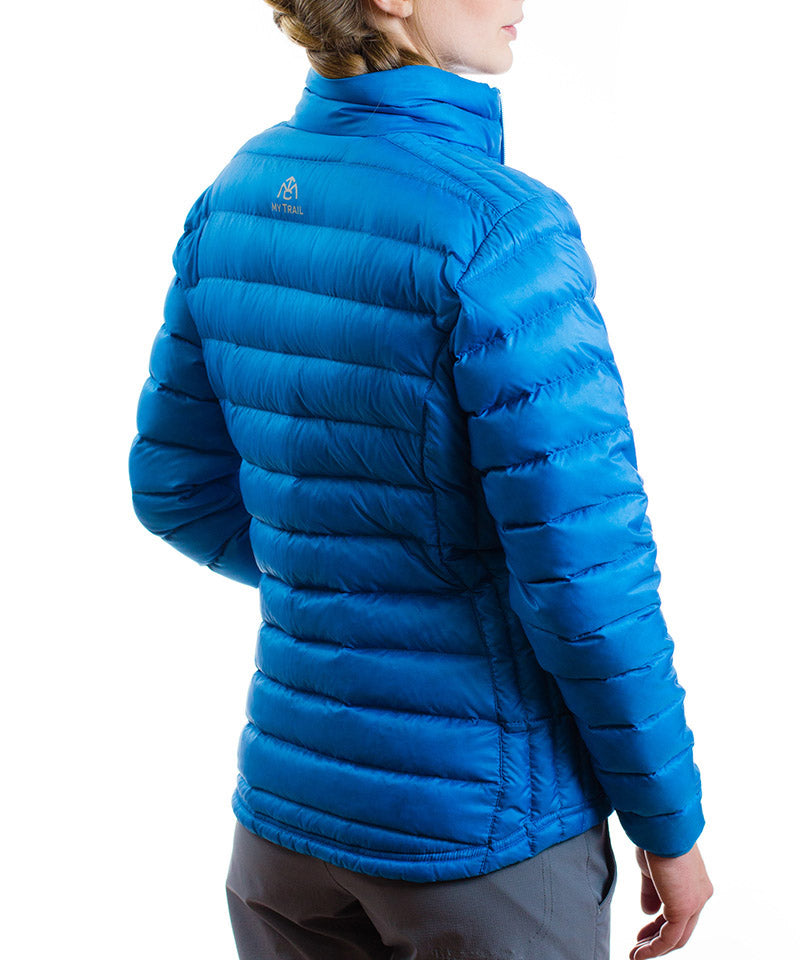 Women's 800 Fill Ultralight Down Jacket - blue