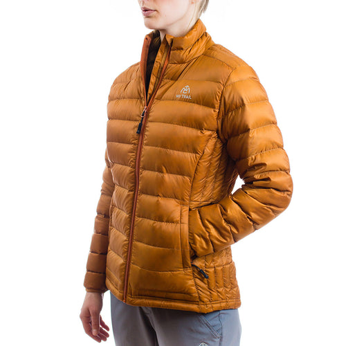 Women's 800 Fill Ultralight Down Jacket pumpkin