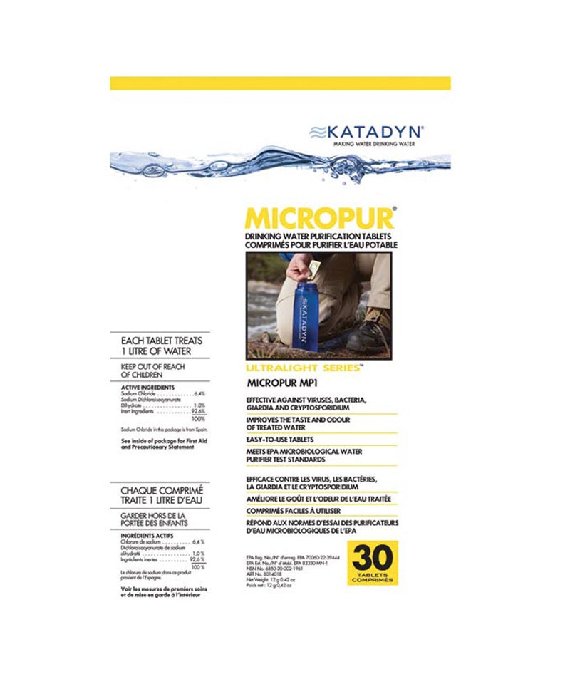 Katadyn Micropur Tablets