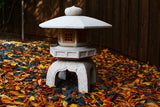 Stone Forest Antique Yukimi Japanese Lantern