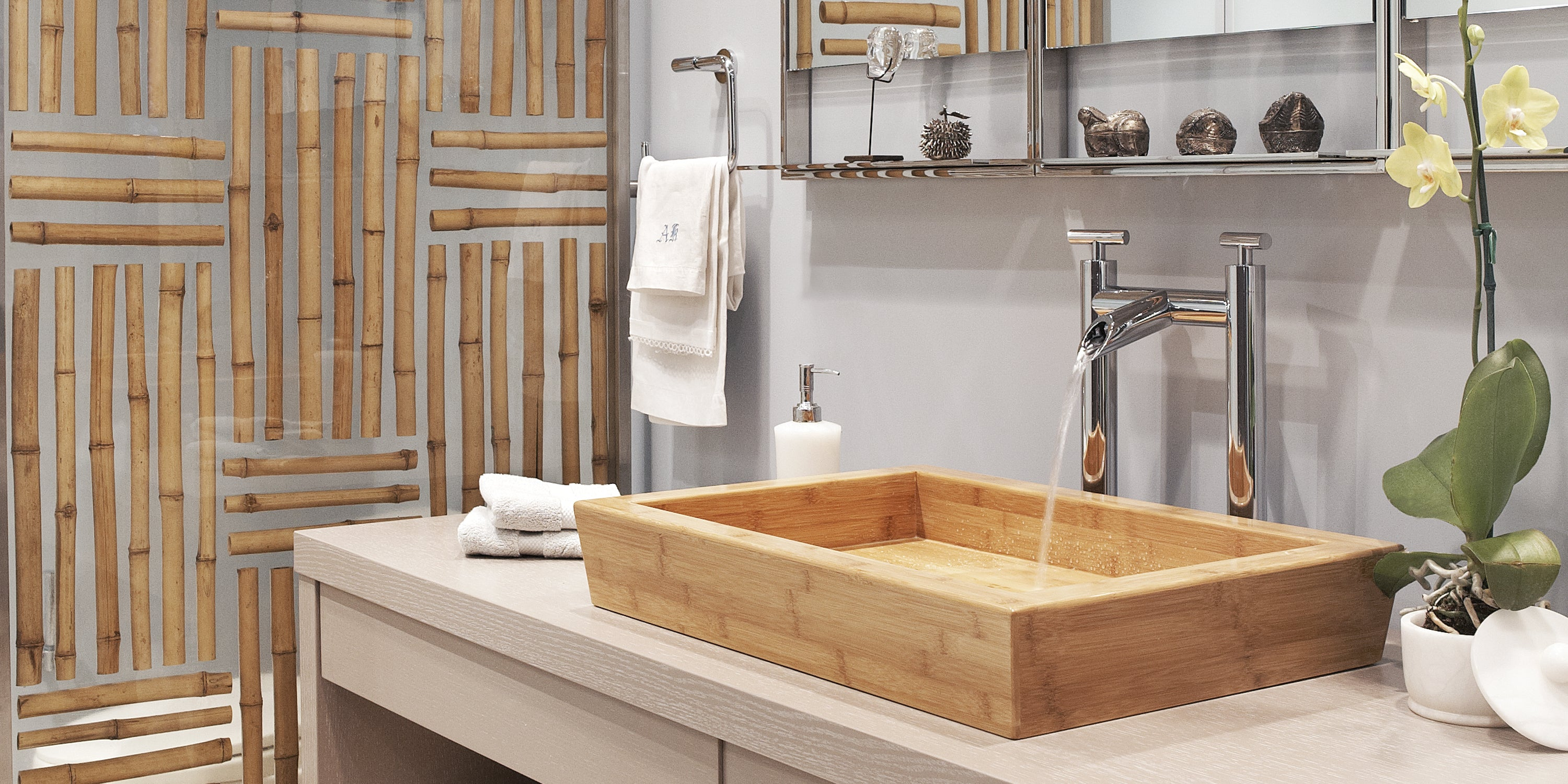 bamboo bathroom sink bamboo sinks forest 10169