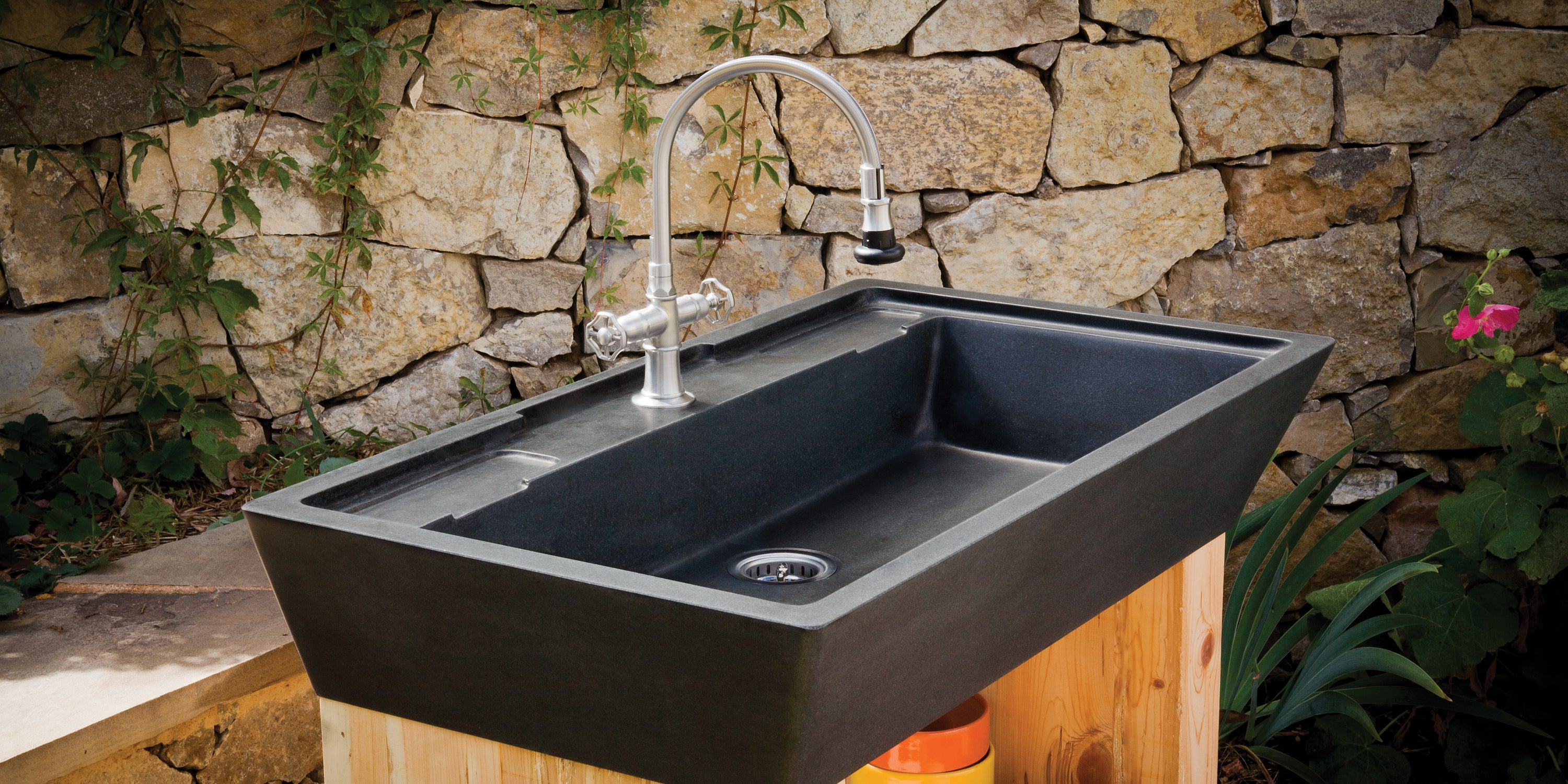 Stone Kitchen Sinks - Marble & Granite - Stone Forest