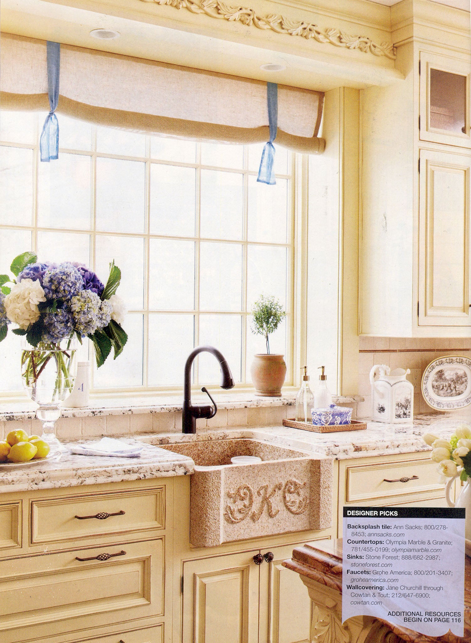 Homes And Gardens Kitchens Better Homes And Gardens Beautiful Kitchens Summer 2010 Stone