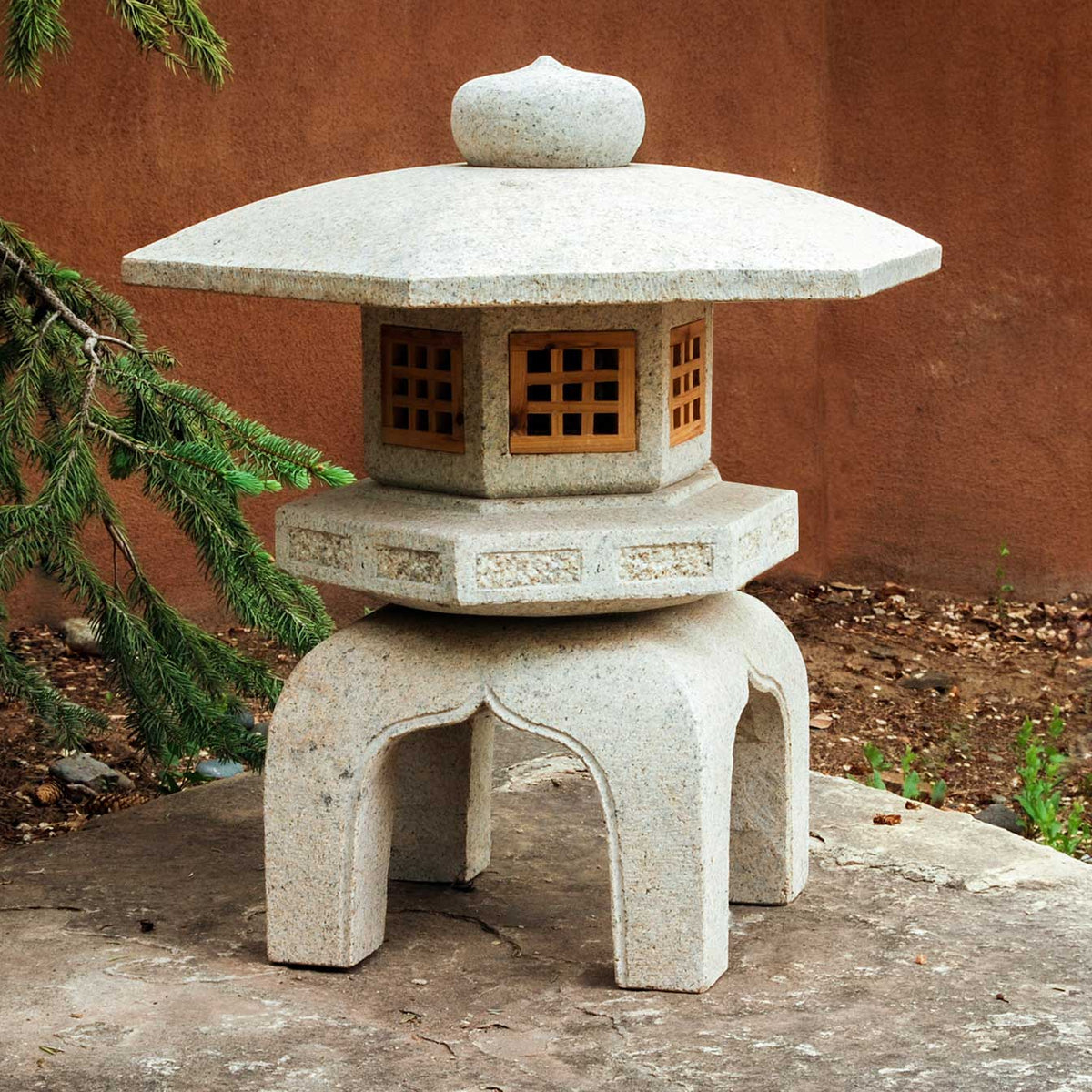 Antique Yukimi Lantern