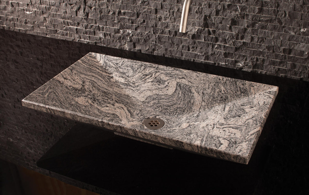 Verona Vessel Sink - Cumulo Granite