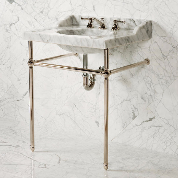 Vintage Washbasin w/ Integral Splash, 27 inch