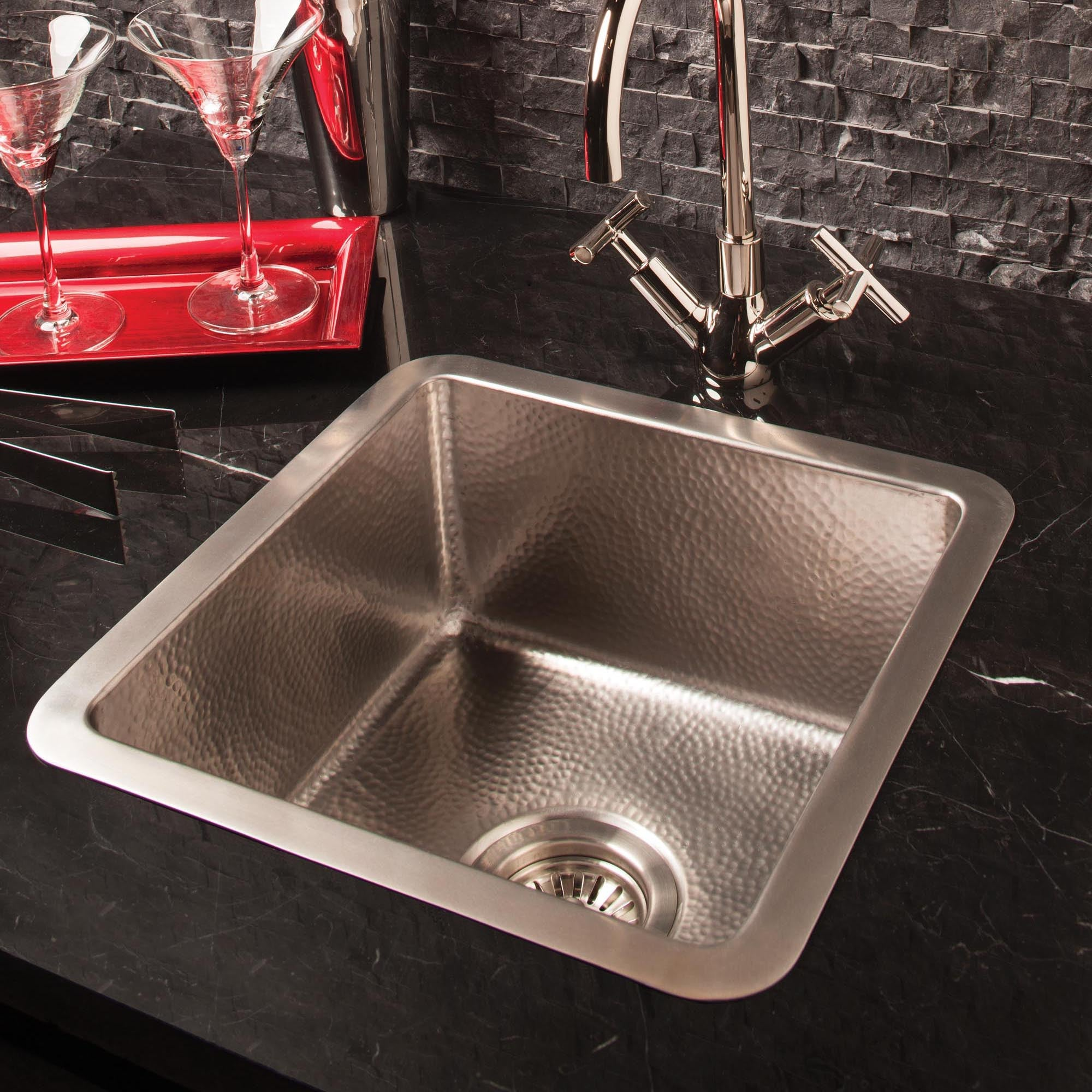 Charmant Stainless Bar Sink