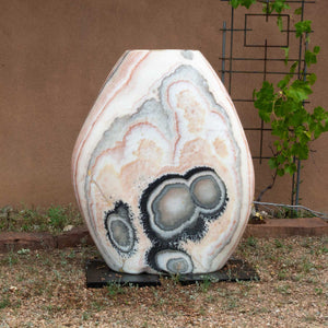 Large Pebble Fountain, D Style Thick