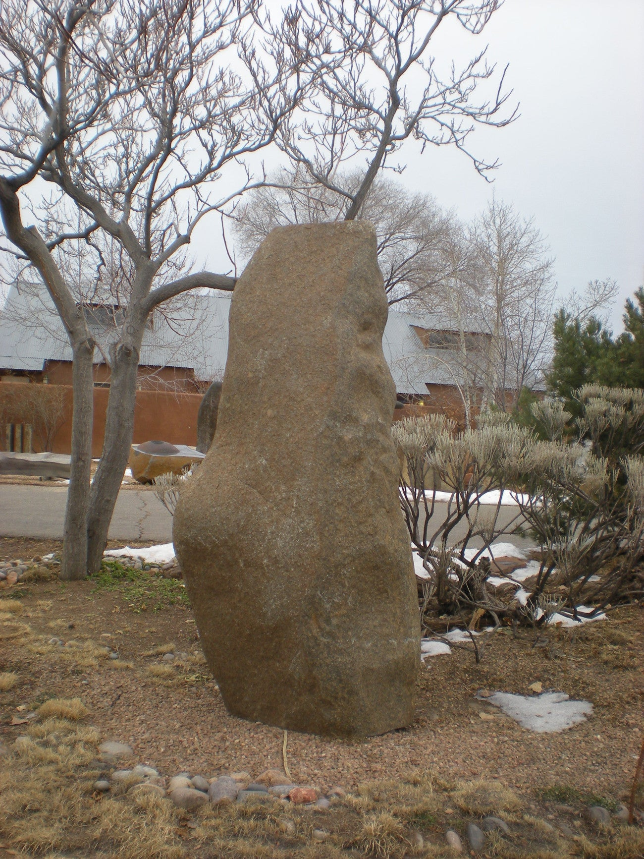 Large Boulder Fountain