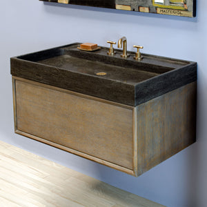 Ventus Bath Sink with Elemental Hanging Vanity