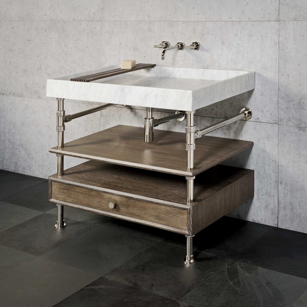 Ventus Bath Console with Storage