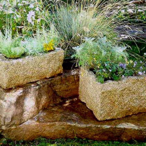 Rectangular Rough Planter