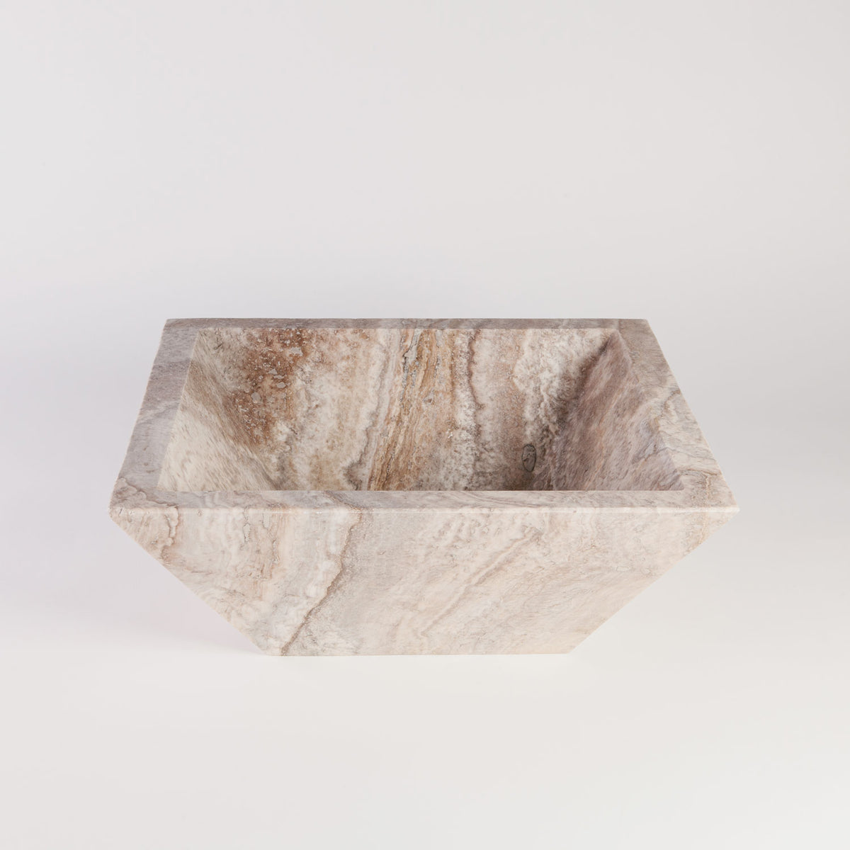 Silver Travertine Vessel Sink