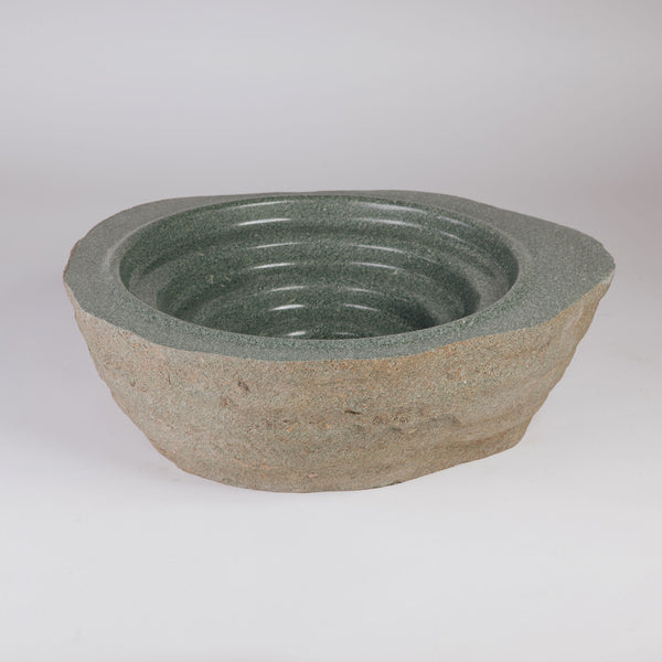 Natural Swirl Vessel Sink