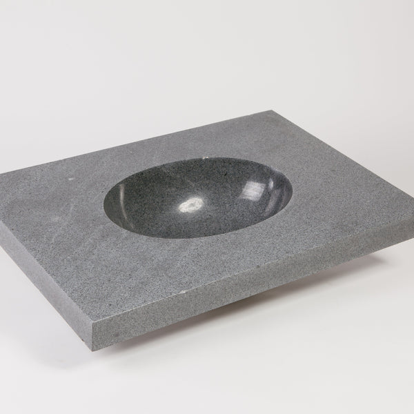 Integral Sink Prototype, Blue-Gray Granite