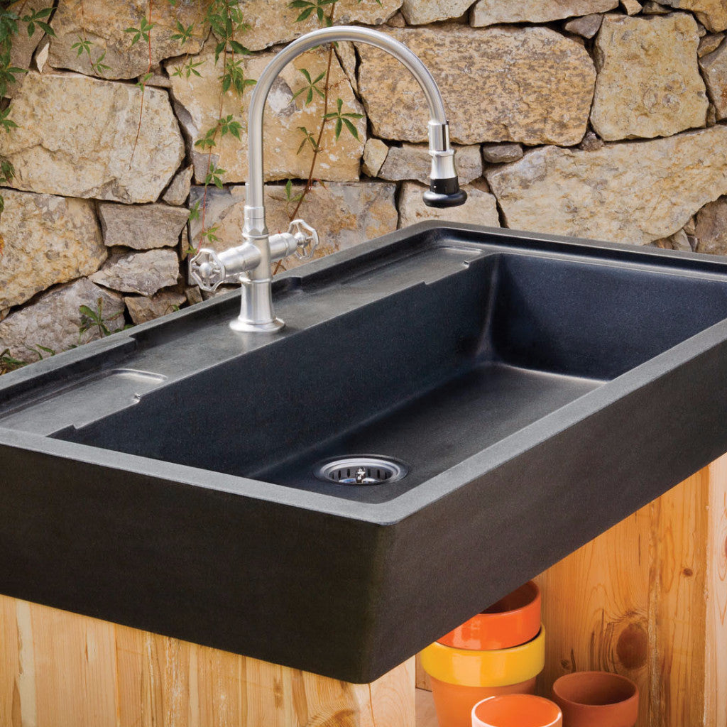 stone sinks kitchen salus potting sink forest 2540