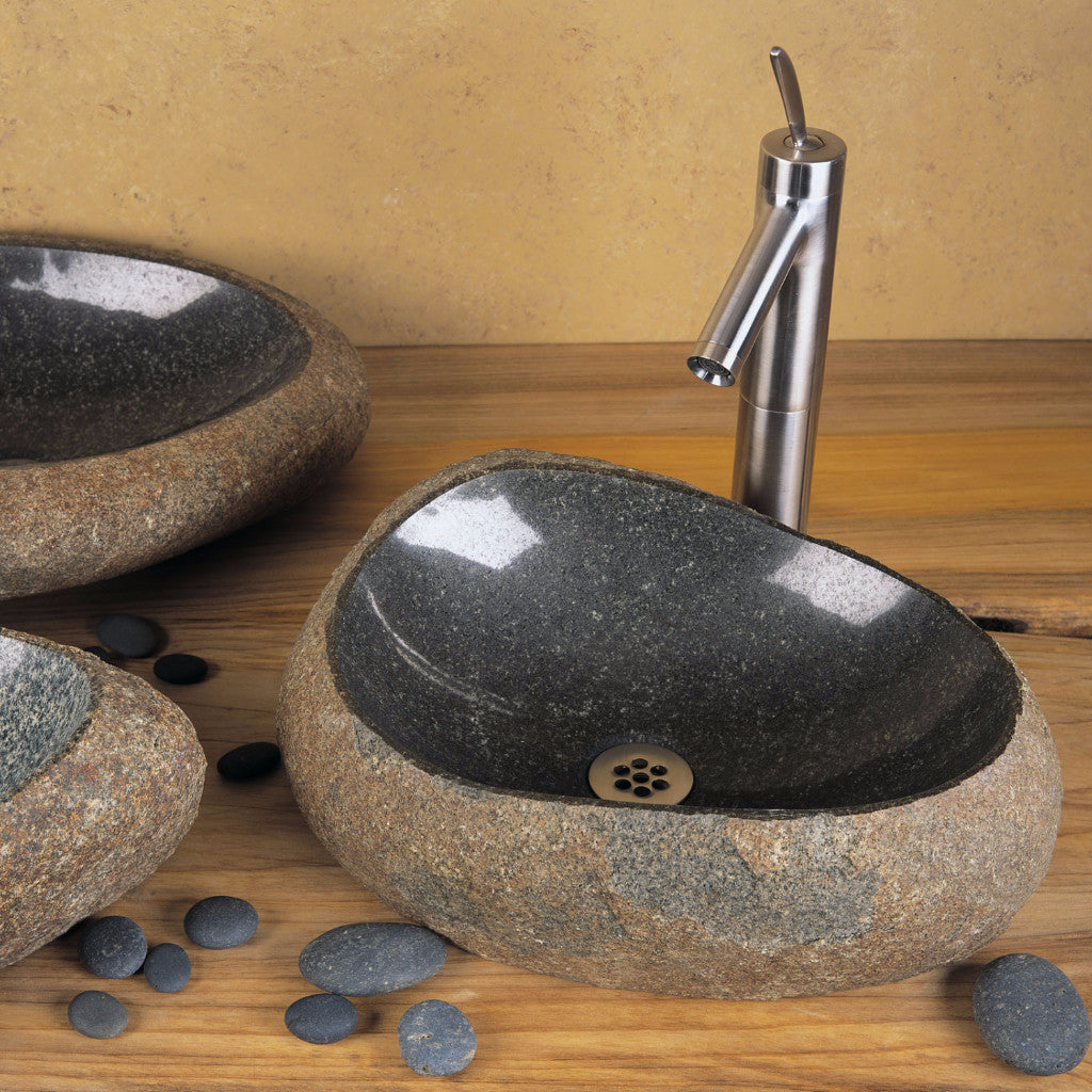 Marvelous Natural Wabi Sink Great Pictures
