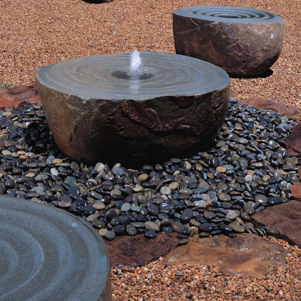 Garden fountain: swirl fountain