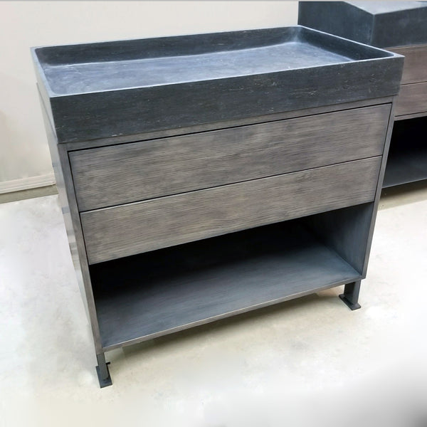 "36"" Elemental Prototype Wood Vanity"