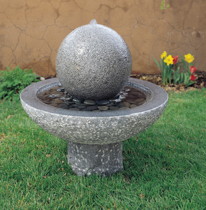 Garden fountain: Watersphere fountain