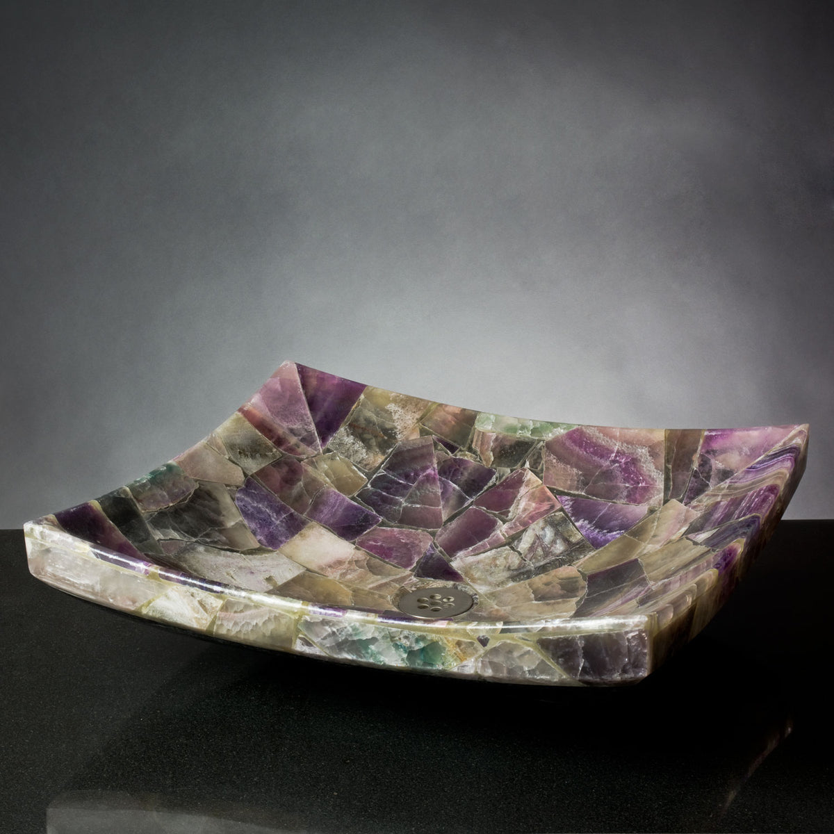 Purple Onyx Mosaic Zen Vessel