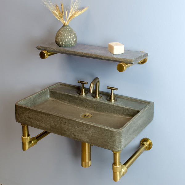 Lumbre Sink in Elemental Concrete
