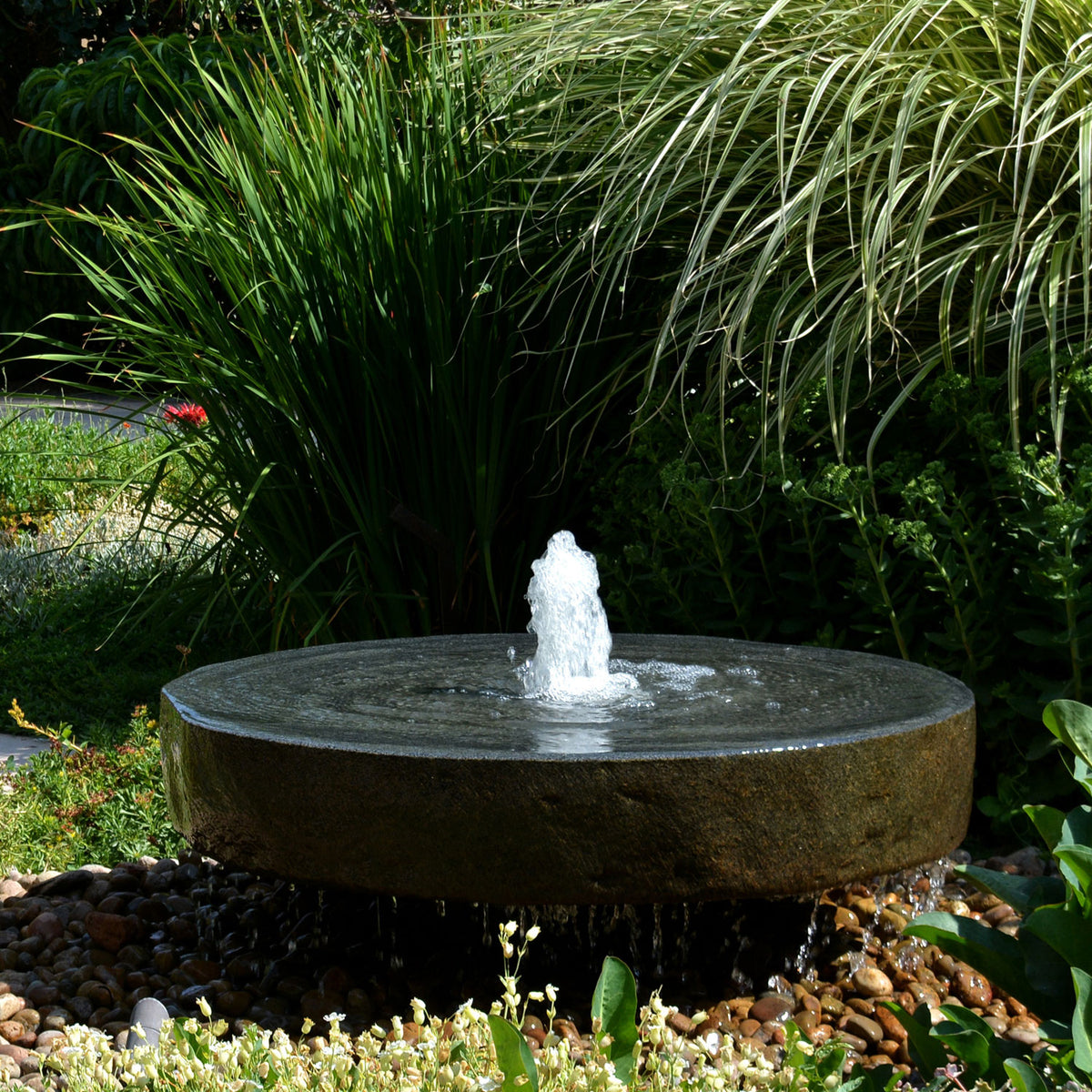 Natural Millstone Fountain