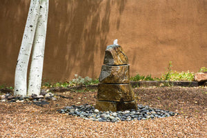 Segmented Boulder Fountain