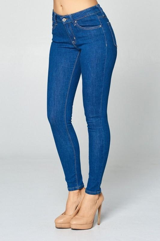 Mila Mid Rise Skinny Ankle Jeans - THE WEARHOUSE