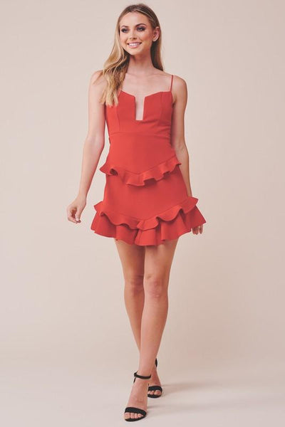 Red After Party Dress