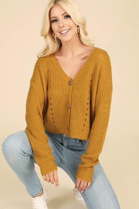 Sand Colored Corduroy Crop Jacket