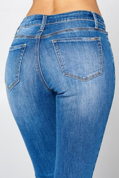Kayla Mid Rise Skinny Jeans - THE WEARHOUSE