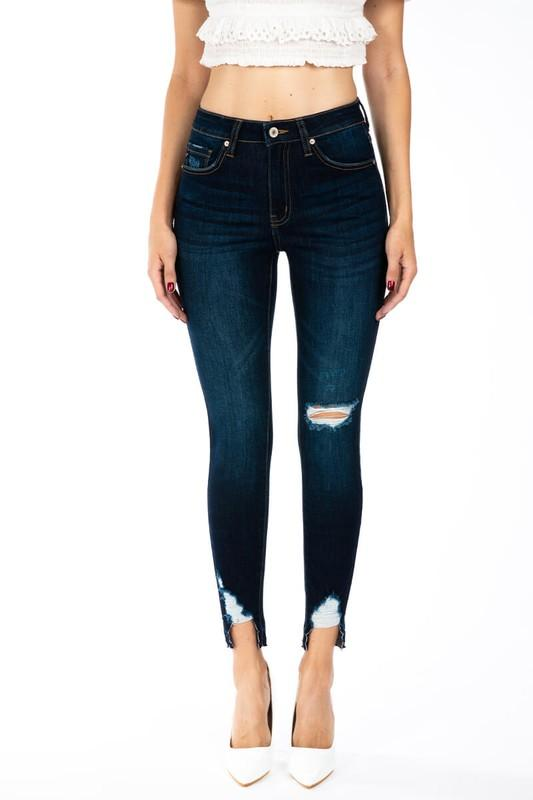 Gemma High Rise Skinny Ankle Jeans - THE WEARHOUSE