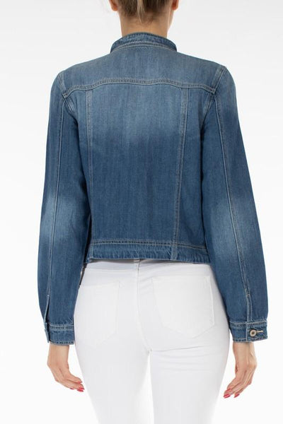 Zoey Fitted Denim Jacket